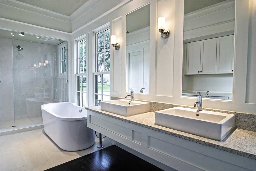 Bathroom Remodeling Project on 1122 Gretna Green Way, West Los Angeles