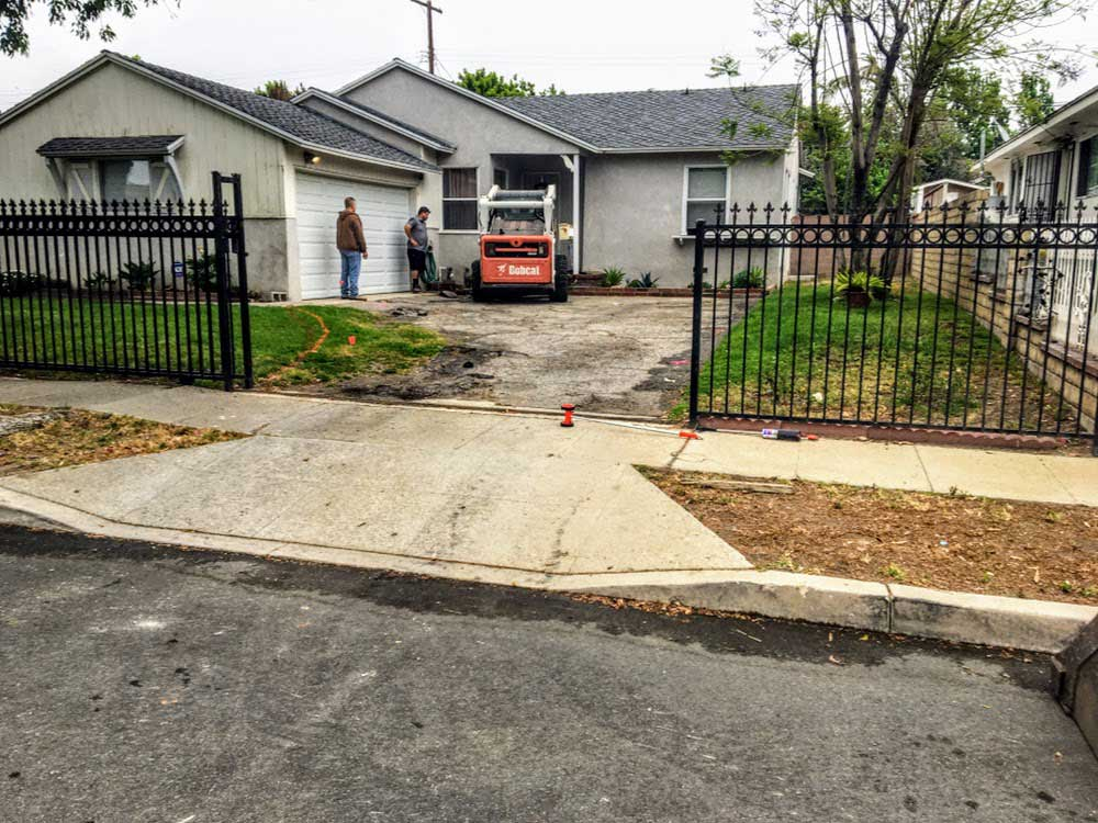 Paver Driveway Installation In Arleta Ca Colossal Builders