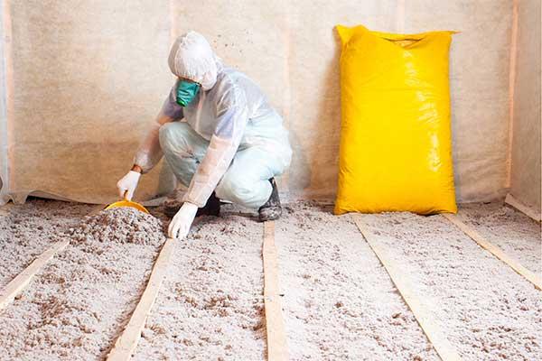 Insulation Expert at Work